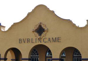 Burlingame, CalTrain, Train Station,
