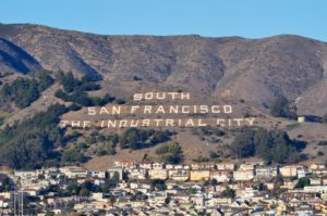 South San Francisco, SSF, Sign Hill, The Industrial City